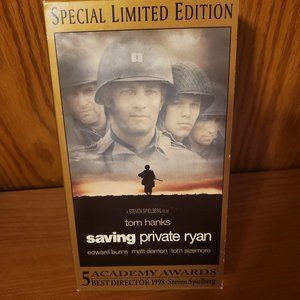 Saving Private Ryan Special Limited Edition VHS